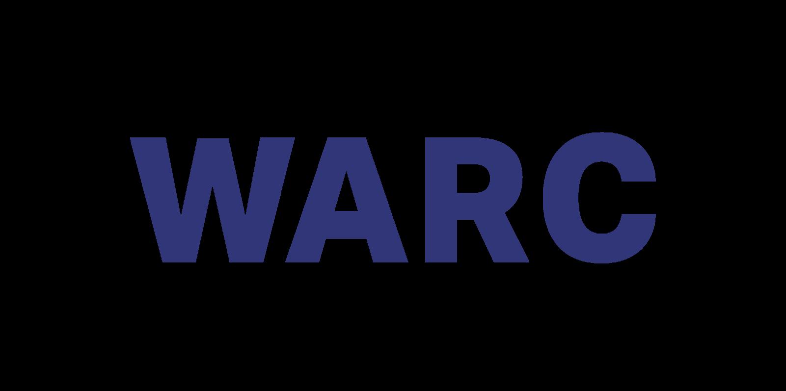 WARC Logo in blue